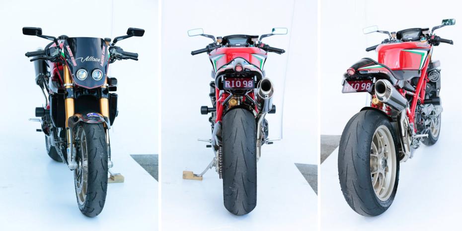 3 images custom Ducati 1098