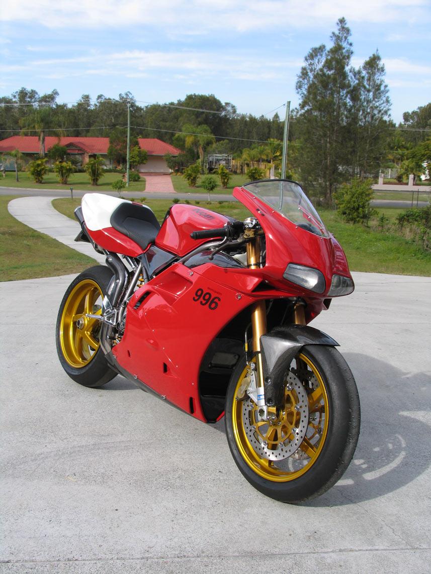 Rebuilt Ducati 996