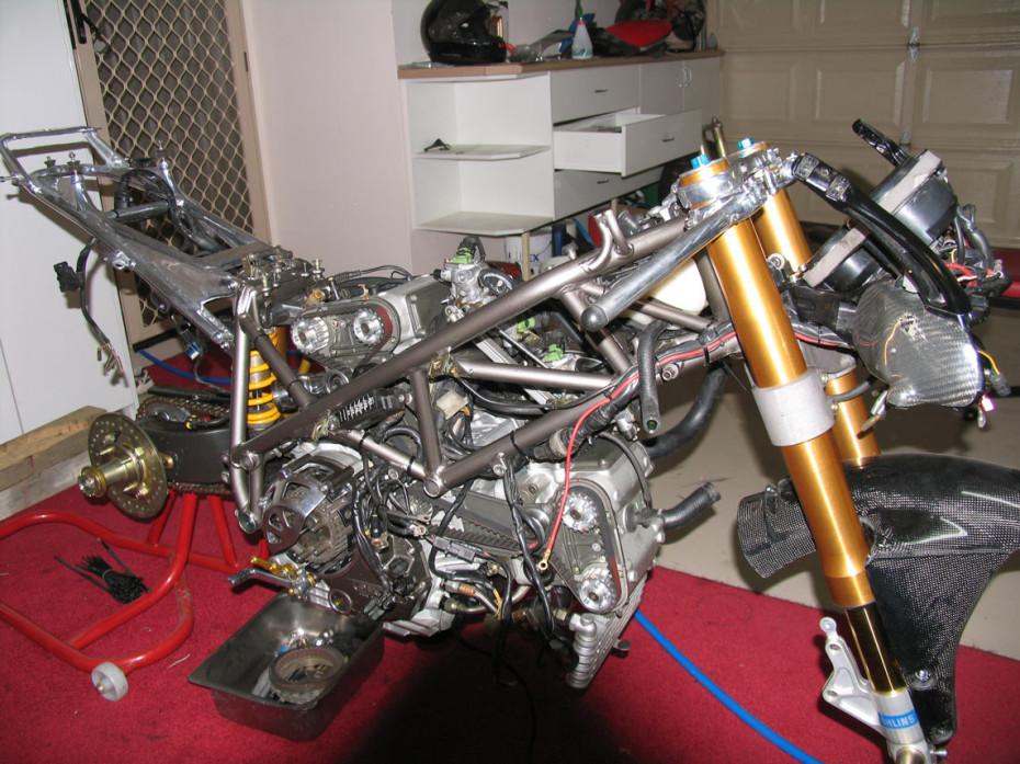 Ducati 916 996 rebuild