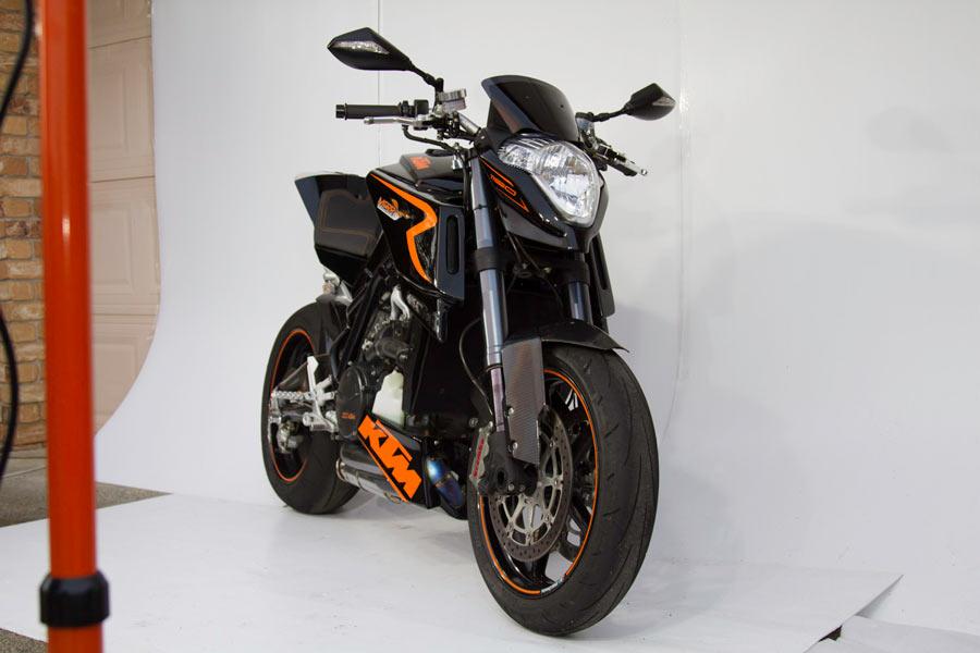 Custom MCRR KTM RC8