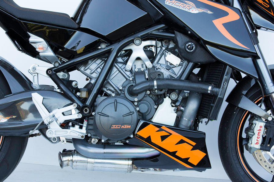 Custom KTM Naked Streetfighter