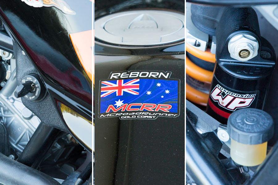 MCRR Australia KTM custom