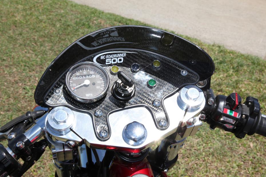 SR500 custom dash