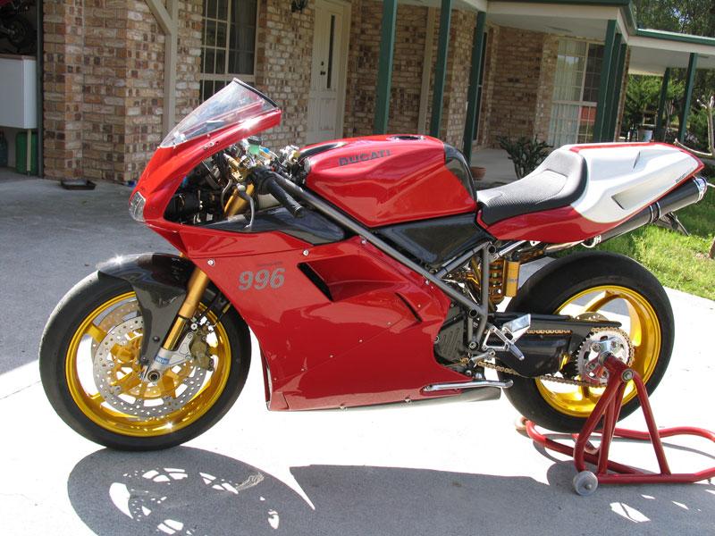 Ducati rebuild