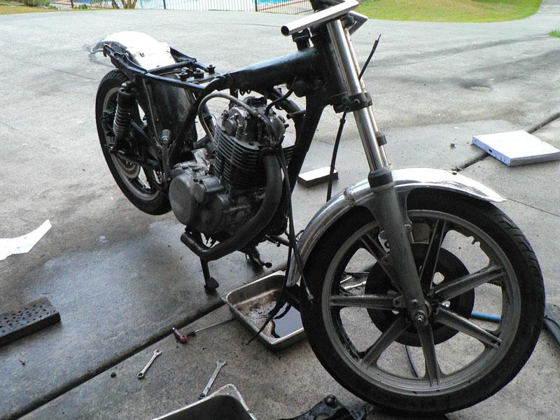 sr500 frame build