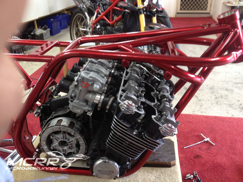 cbx motor and frame