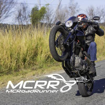 harley davidson custom bike stuntman